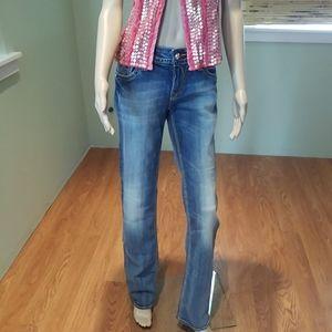 Rock Revival Debbie Straight Leg Jeans Size 31
